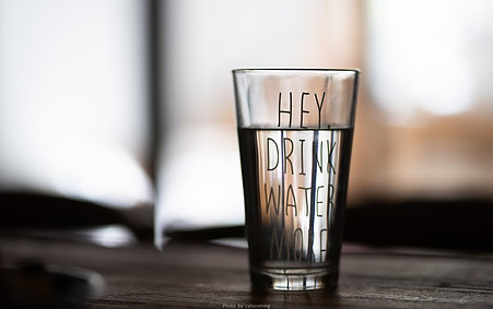Hey. Drink water more.