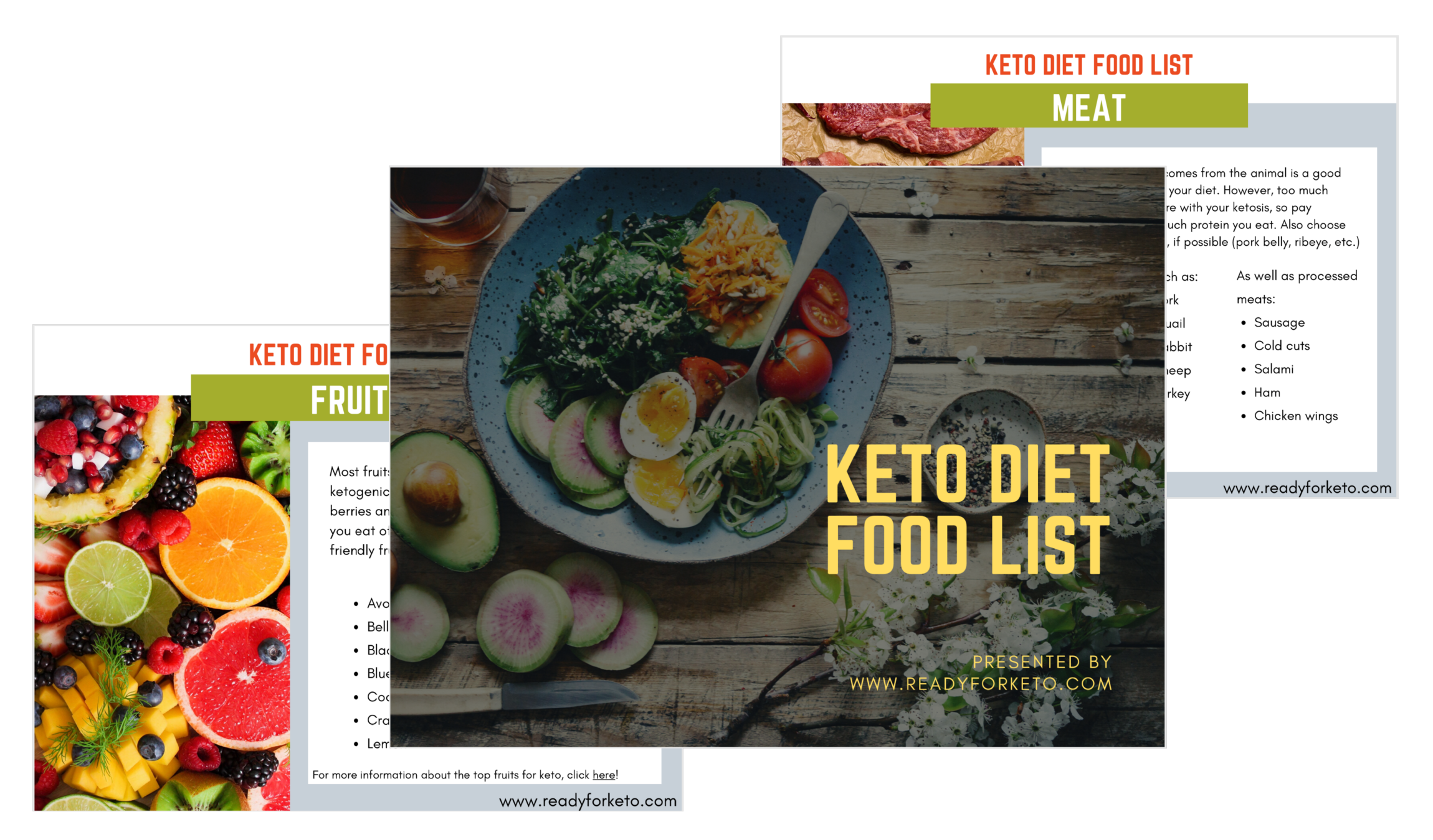 Foods To Eat On The Keto Diet